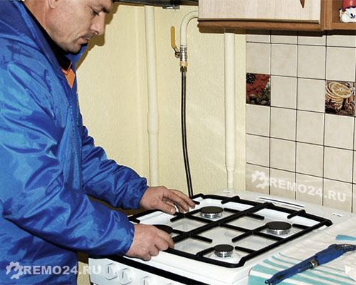 Сколько стоит подключить газовую плиту в туле